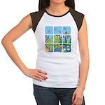 Frog Women's Cap Sleeve T-Shirt