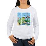 Frog Women's Long Sleeve T-Shirt