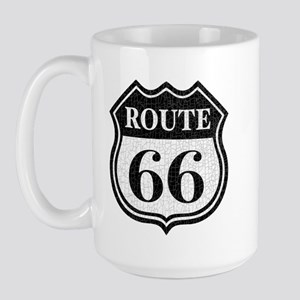 Route66-dist Large Mug