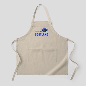 Dynamic Scotland. BBQ Apron