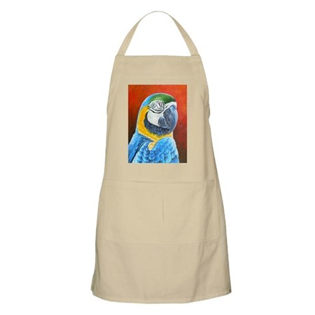 Macaw Blue and Yellow BBQ Apron