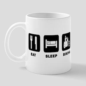 Eat,Sleep,Biking Mug