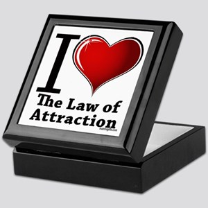 Love the Law of Attraction Keepsake Box
