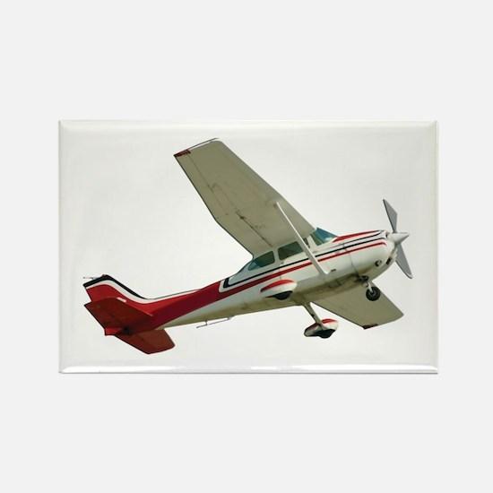 Solo Flight Rectangle Magnet