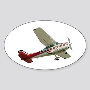 Solo Flight Oval Sticker