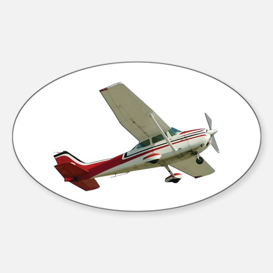 Solo Flight Oval Decal