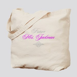 Future Mrs. Jackman Tote Bag