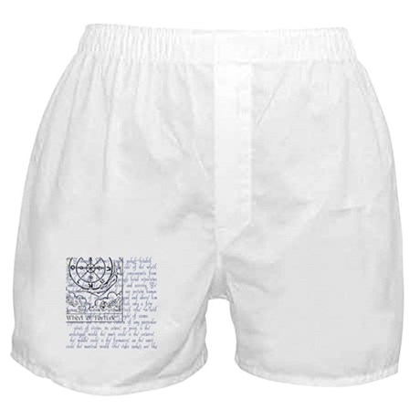 Tarot Key 10 - Wheel of Fortune Boxer Shorts