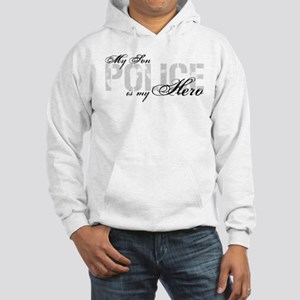 My Son is My Hero - POLICE Hooded Sweatshirt