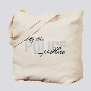 My Son is My Hero - POLICE Tote Bag