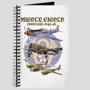 WWII 8th Air Force Fighters airplane Journal