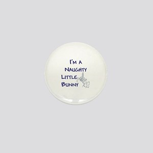 Naughty Bunny Mini Button (100 pack)