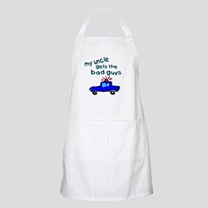 Gets the bad guys- uncle BBQ Apron