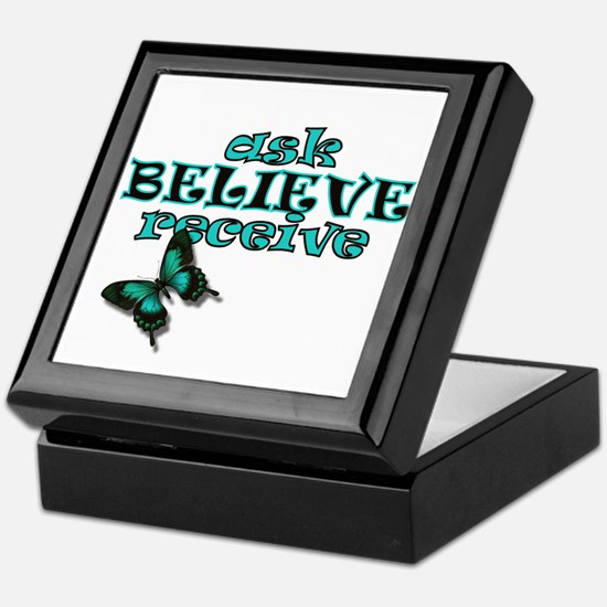 Cute Law of attraction Keepsake Box