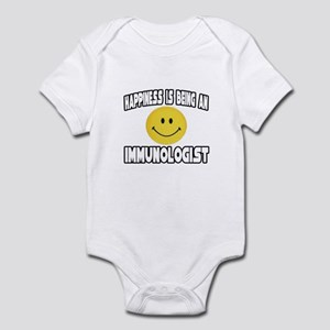 """Happiness...Immunologist"" Infant Bodysuit"