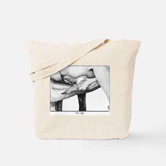 Horse Foal Artwork Tote Bag