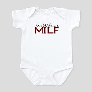 My Wife's a MILF Infant Bodysuit