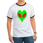 Alien Heart Ringer T