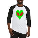 Alien Heart Baseball Jersey