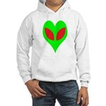 Alien Heart Hooded Sweatshirt