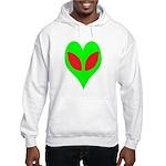 Alien Heart Hooded Sweatshirt