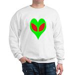 Alien Heart Sweatshirt