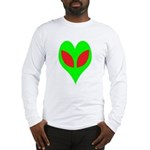 Alien Heart Long Sleeve T-Shirt