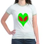 Alien Heart Jr. Ringer T-Shirt
