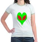 Alien Heart Jr. Ringer T-Shirt