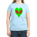 Alien Heart Women's Light T-Shirt