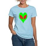 Alien Heart Women's Light T-Shirt