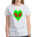 Alien Heart Women's T-Shirt
