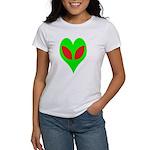 Alien Heart Women's T-Shirt
