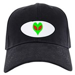 Alien Heart Black Cap