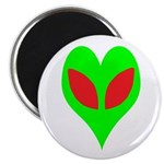 Alien Heart Magnet