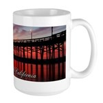 Newport Beach 1 Large Mug