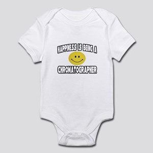 """Happiness..Chromatographer"" Infant Bodysuit"