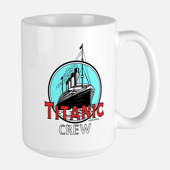 Titanic Crew Large Mug