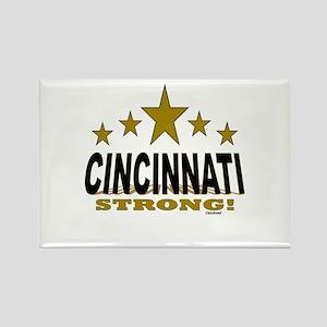 Cincinnati Strong! Rectangle Magnet