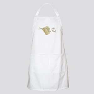 Don't mess with the chef BBQ Apron