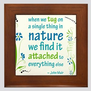Nature Atttachment Framed Tile