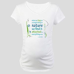Nature Atttachment Maternity T-Shirt