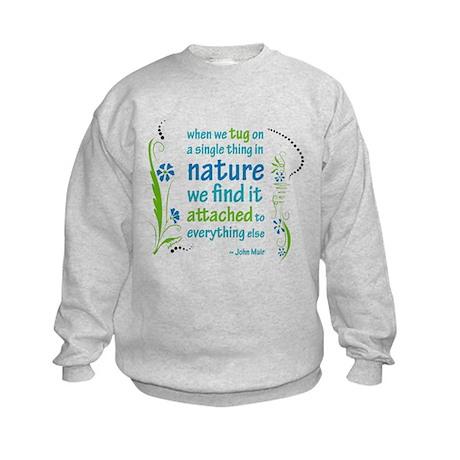 Nature Atttachment Kids Sweatshirt