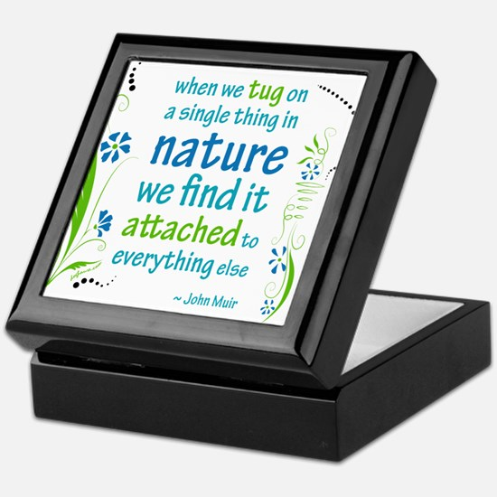 Nature Atttachment Keepsake Box