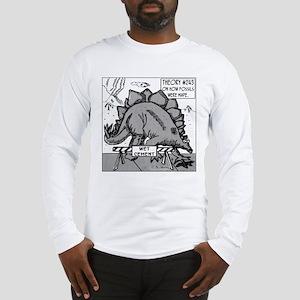 Dinosaurs & Wet Cement Long Sleeve T-Shirt