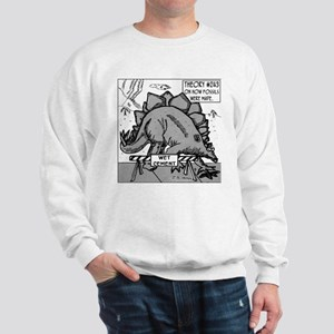 Dinosaurs & Wet Cement Sweatshirt