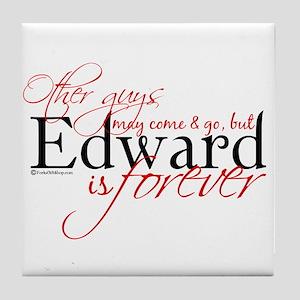 Edward is Forever Tile Coaster