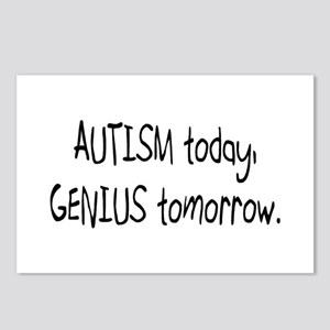 Autism Today Genius Tomorrow Postcards (Package of