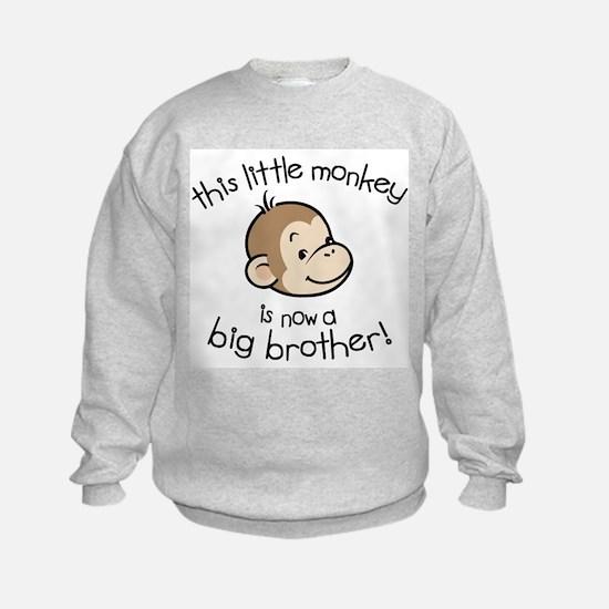 Big Brother - Monkey Face Sweatshirt
