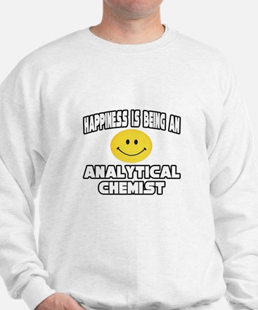 """""""Happiness..Analytical Chemist"""" Jumper"""